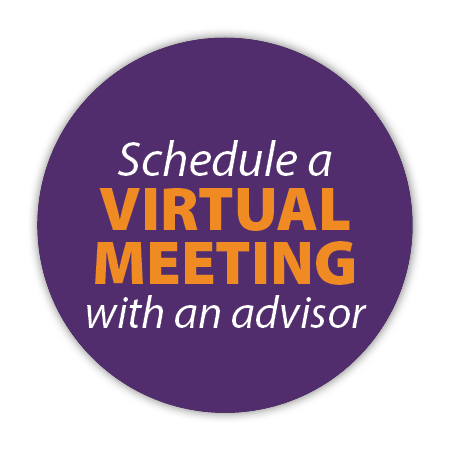 Schedule a Virtual Meeting with an Advisor